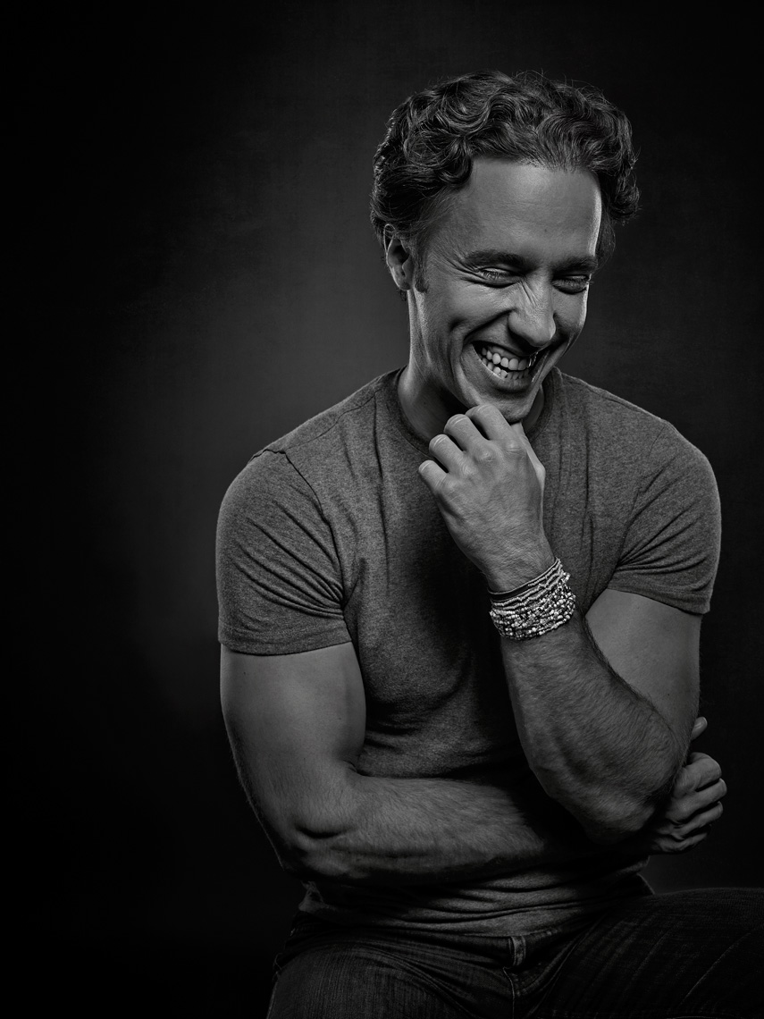 Craig Kielburger portrait in studio, founder of We Day, Save the Children by Vancouver Celebrity Photographer Waldy Martens