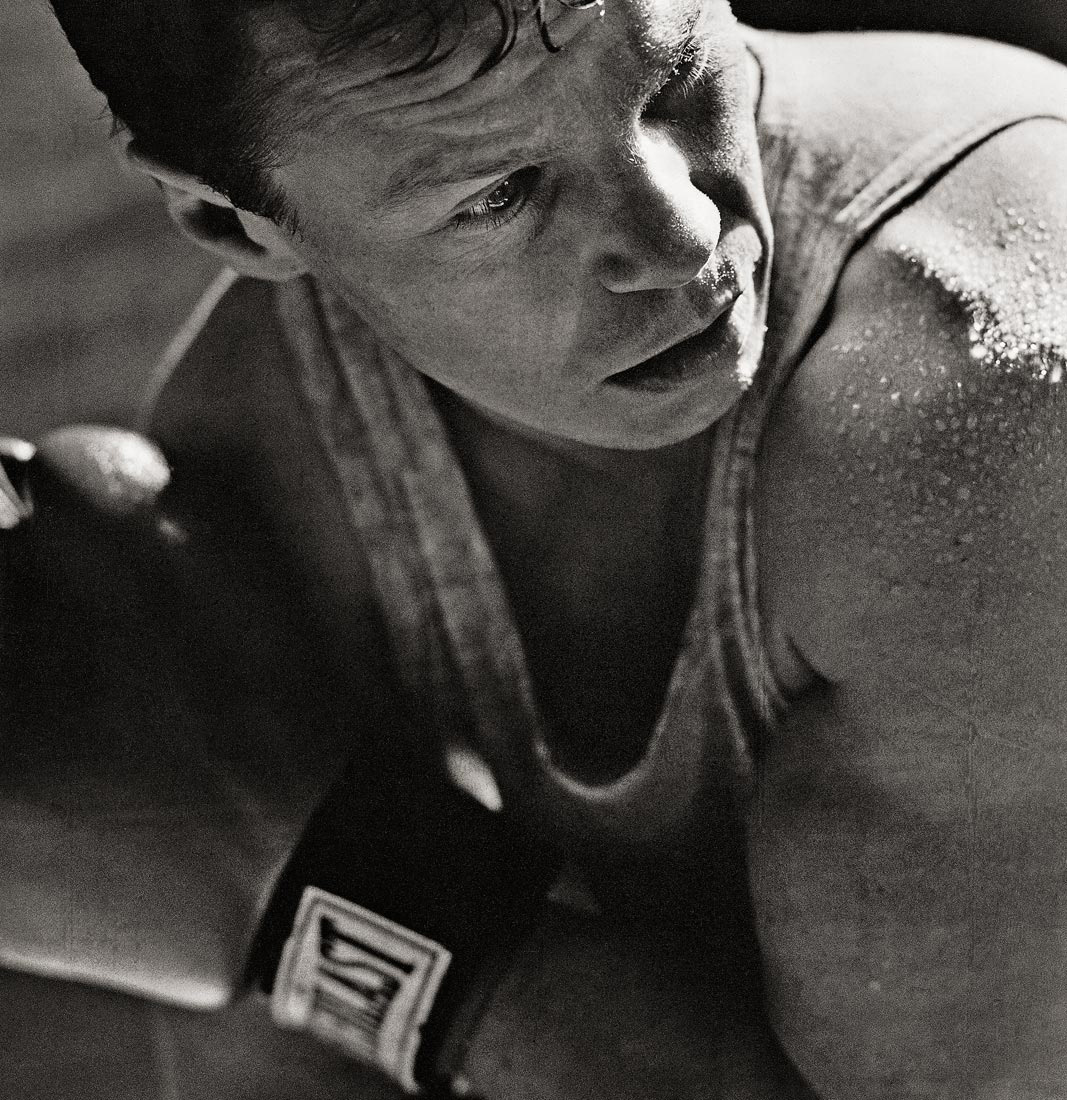 Canadian Olympic Bronze medallist boxer Dale Walters photographed by Vancouver Celebrity photographer Waldy Martens