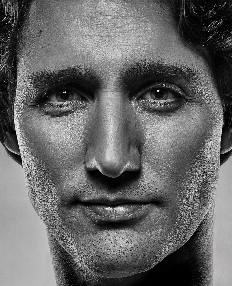 Prime Minister of Canada Justin Trudeau Portrait by Vancouver Celebrity Photographer