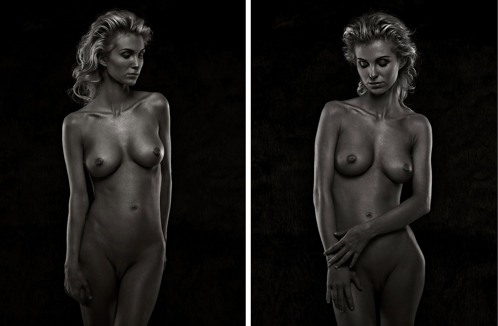 nude art photography by Vancouver artist photographer Waldy Martens