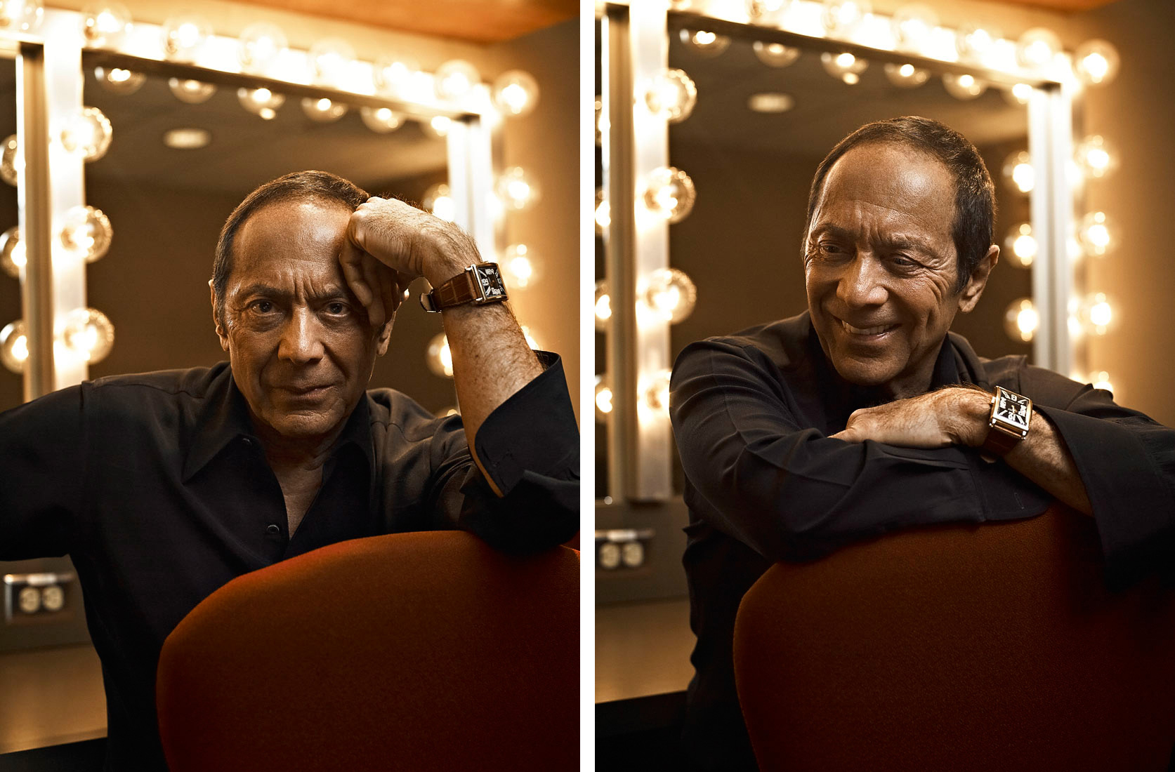 Singer Songwriter Paul Anka post concert by Vancouver Celebrity Editorial Photographer