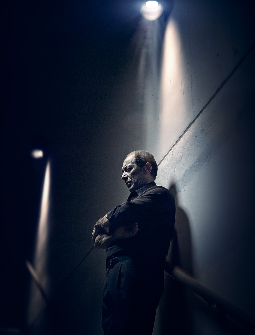 Singer Songwriter Paul Anka backstage post concert editorial image by Vancouver celebrity photographer Waldy Martens